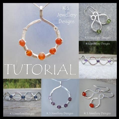 wire work secrets jewelry tutorials wirewire jewelry coil jewels jewelry tutorials wire