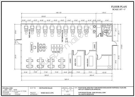 nail salon floor plan design salon design space planning floor plan layouts for salons
