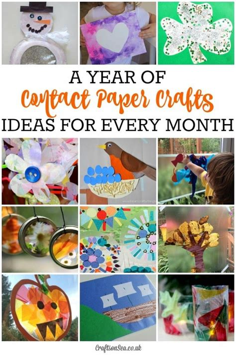 contact paper crafts for toddlers best 25 contact paper crafts ideas on cloud