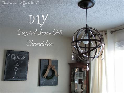 orb chandelier diy diy iron orb chandelier oh my creative