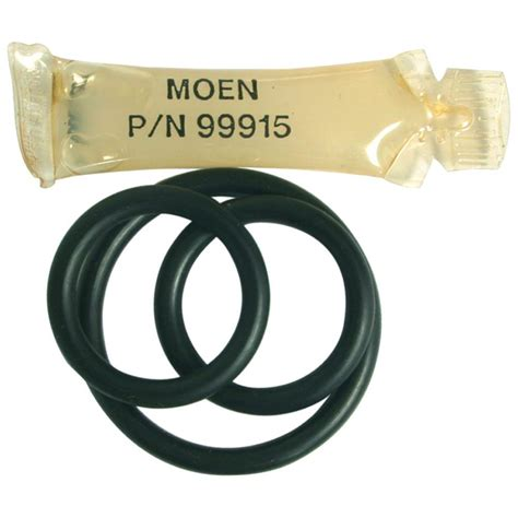 how to replace o ring in moen kitchen faucet moen 117 spout o ring kit 131107 the home depot