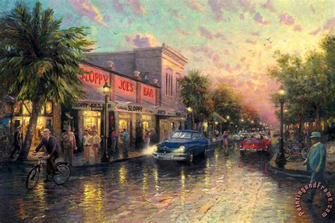 key west painting kinkade key west painting key west print for sale