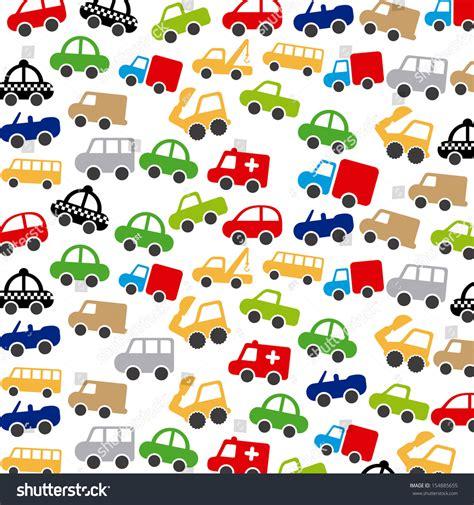 Car Vector Wallpaper by Cars Design White Background Vector Illustration