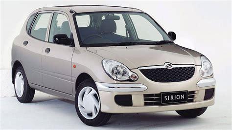Daihatsu Sirion daihatsu sirion used review 1998 2005 carsguide
