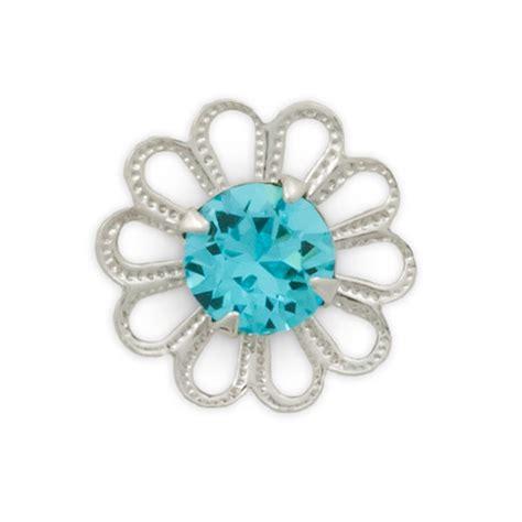 swarovski jewelry supplies swarovski 62020 light turquoise rhodium plated filigree