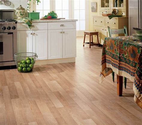 vinyl kitchen flooring ideas vinyl wooden flooring in the kitchen home interiors