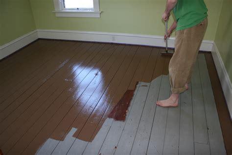 Bleach On Hardwood Floors by Wood Floor Painting How To Build A House