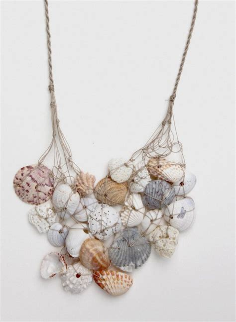 seashell jewelry 1000 ideas about seashell necklace on shell