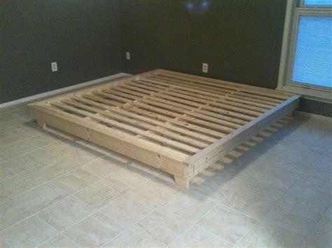 build platform bed pdf diy platform bed plans build plans to build a