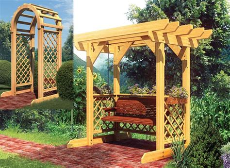 arbor swing plans free diy pergola with swing furnitureplans