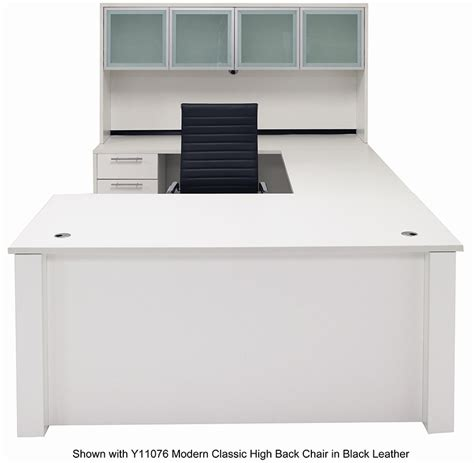 executive u shaped desk adjustable height u shaped executive office desk w hutch