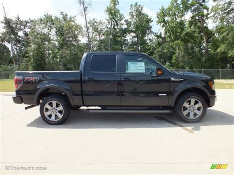 2012 Ford F150 Fx4 by Tuxedo Black Metallic 2012 Ford F150 Fx4 Supercrew 4x4