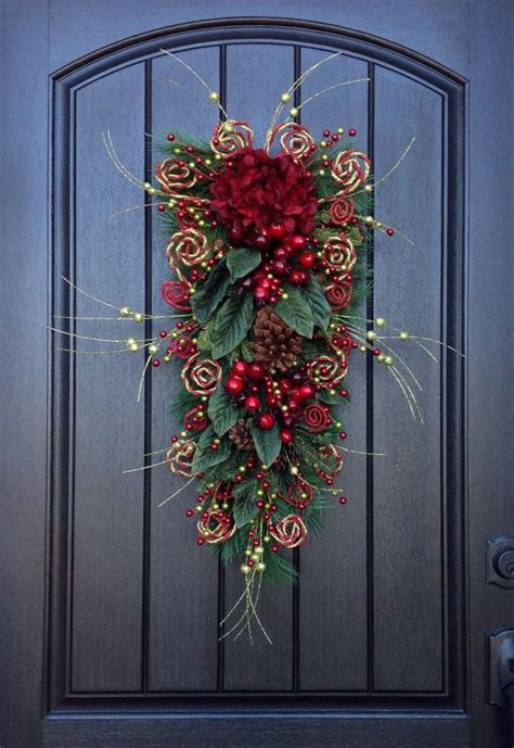 how to make a swag for front door 1000 ideas about swags on