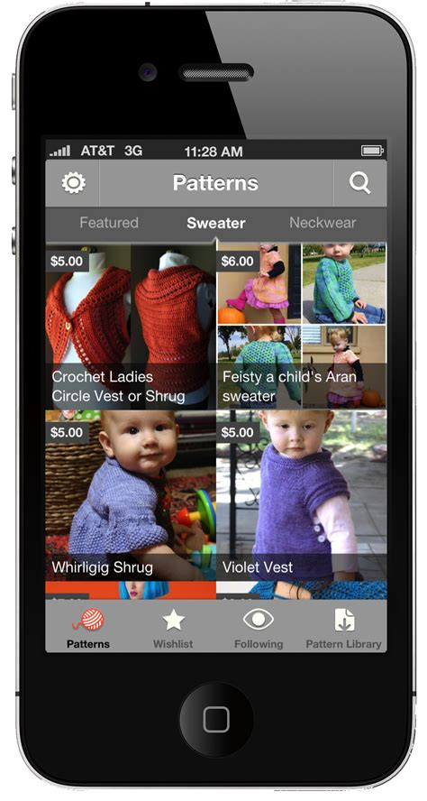 The Free Craftsy Knitting And Crochet Patterns App