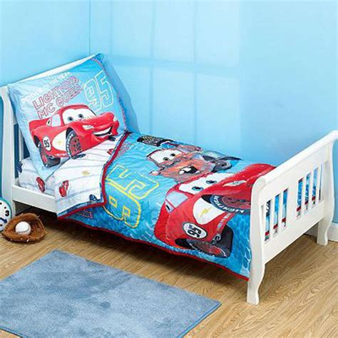 cars toddler bedding sets disney cars tikes lightning mcqueen toddler race