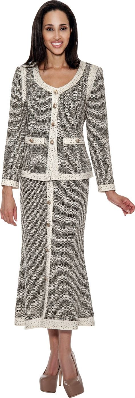 knit suits for knit suits gold ivory black td94542 not just