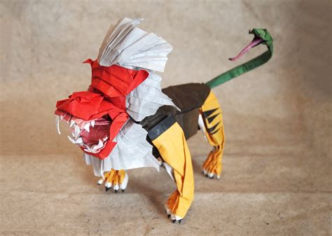 amazing origami creations amazing mythological origami creations you to see to