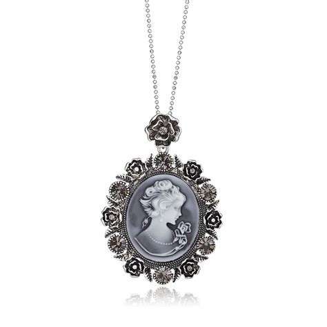 how to make cameo jewelry cameo pendant necklace vintage cameo necklace silver