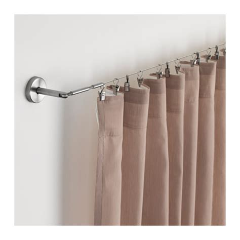 Double Curtain Rods Ikea by Dignitet Stahlseil Ikea