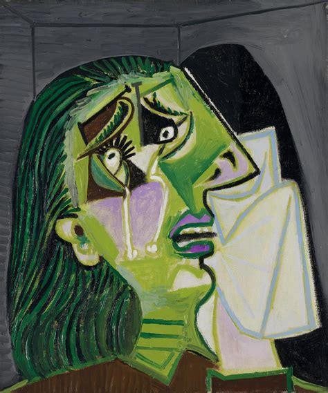 picasso paintings in national gallery weeping pablo picasso ngv view work