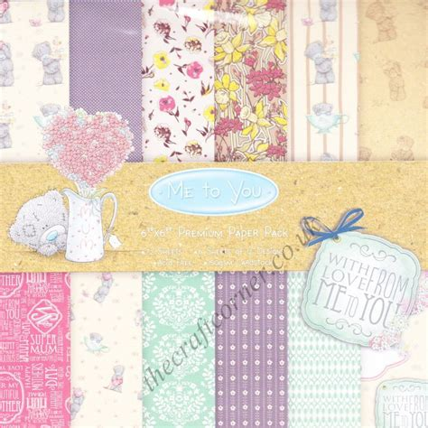 craft paper pads me to you 6 x 6 designer paper pad by trimcraft