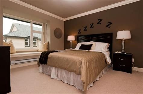 paint colors for bedroom with brown furniture how to decorate your bedroom with brown accent wall home
