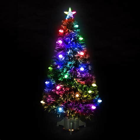 tree lights uk cheap fibre optic tree prices pi uk