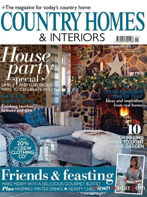 country home and interiors magazine country homes interiors january 2011 187 pdf magazines magazines commumity
