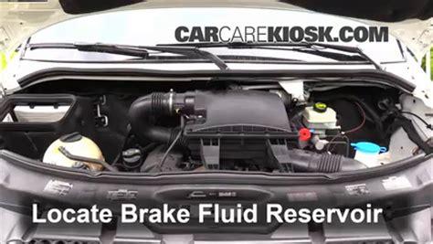 Mercedes Brake Fluid by Add Brake Fluid 2007 2016 Mercedes Sprinter 2500