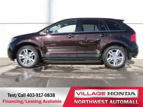 2014 Ford Edge Limited by 2014 Ford Edge Limited Awd 26 887 Calgary Honda
