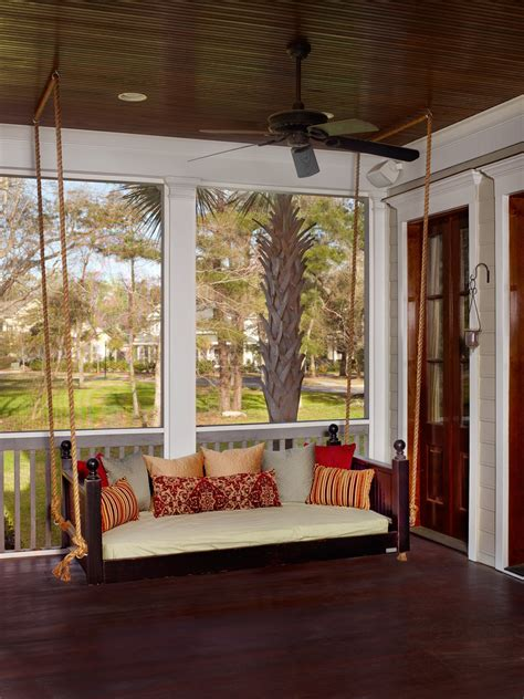 Charleston Porch Swing by Emerson Vintage Porch Swings