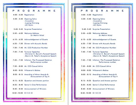 program for uc cics acquaintance program
