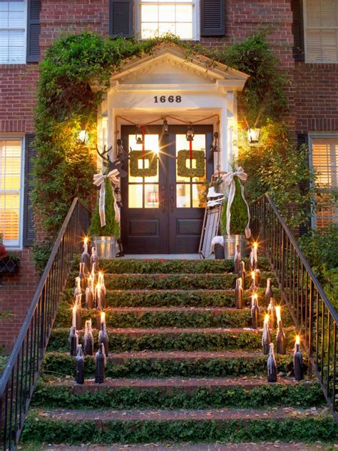 how to decorate your house for outside lights 19 outdoor decorating ideas hgtv