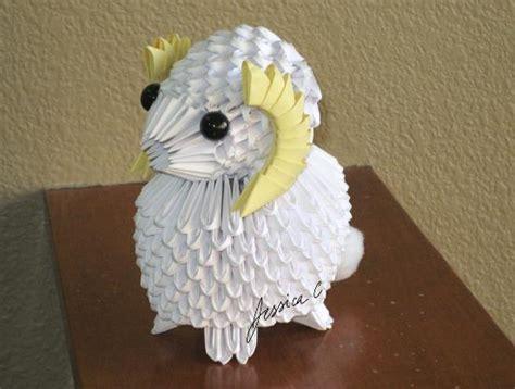 3d origami sheep 3d origami by jchau