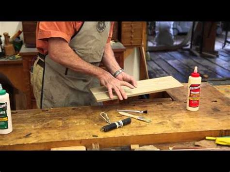 woodworking glue tips tips for successful wood panel glue up doovi