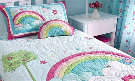Kids Bedroom Furniture Sets For Girls rainbow bedding for kids interior amp exterior doors