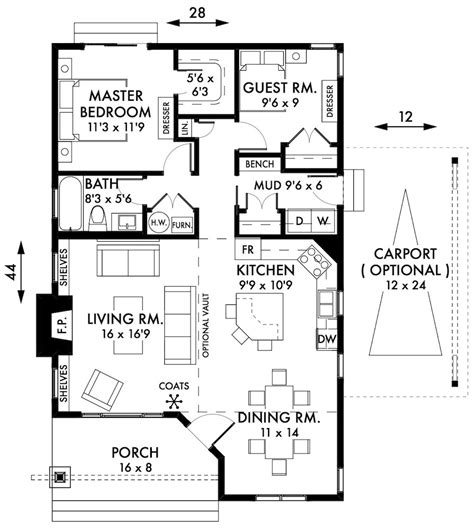 2 bedroom cottage floor plans luxury home designs residential designer