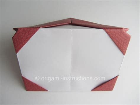 picture frame origami origami photo frame folding