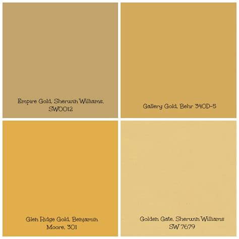 paint colors yellow gold gold tinged wall paint can set creates a warm and bright