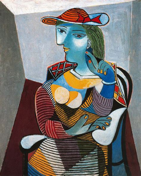 picasso paintings of therese portrait of therese pablo picasso s paintings