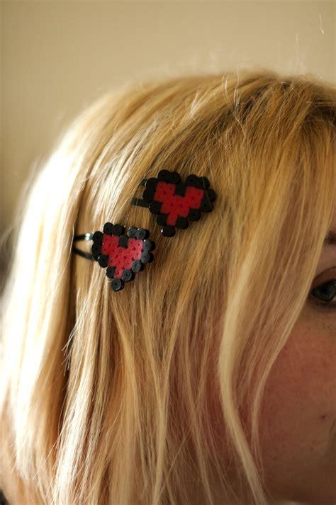 perler bead hair accessories perler hair by creageek on deviantart