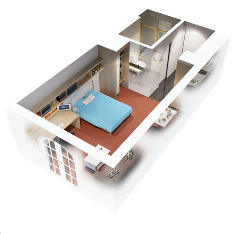 one bedroom flat designs 10 ideas for one bedroom apartment floor plans