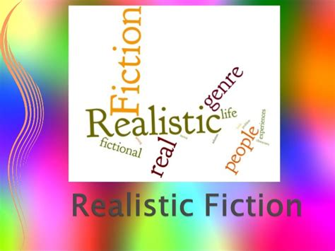 realistic fiction picture book realistic fiction for fourth graders