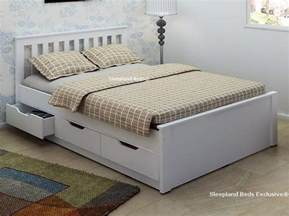 white bed frame with drawers 25 best ideas about beds on sofa for