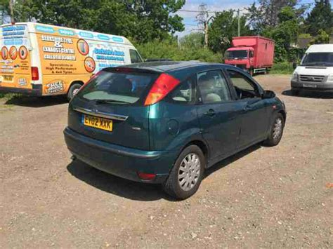 how to fix cars 2002 ford focus user handbook ford 2002 focus ghia tdci spares or repair car for sale