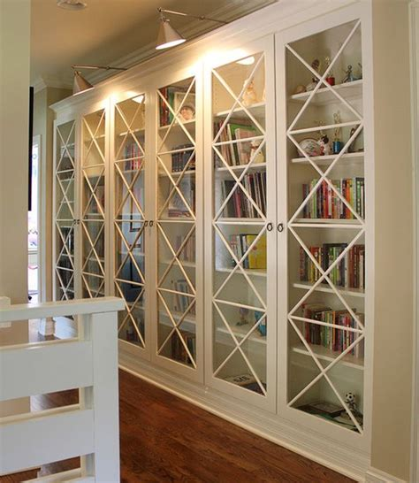 billy bookcase with glass doors 30 genius ikea billy hacks for your inspiration 2017