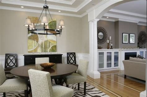 paint colors for living room and dining room this arch between dining room and living room windows