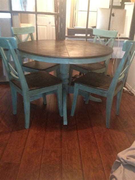 diy chalk paint dining table 17 best images about redecorate on wood stain