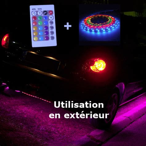 kit led 12v rgb special tuning auto moto ext 233 rieur deco led eclairage