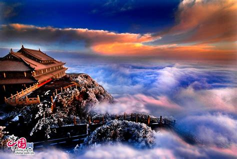 breathtaking scenery breathtaking scenery of emei mountain 1 4 headlines